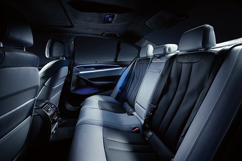 BMW ALPINA B5 Bi-Turbo, Interieur Fond