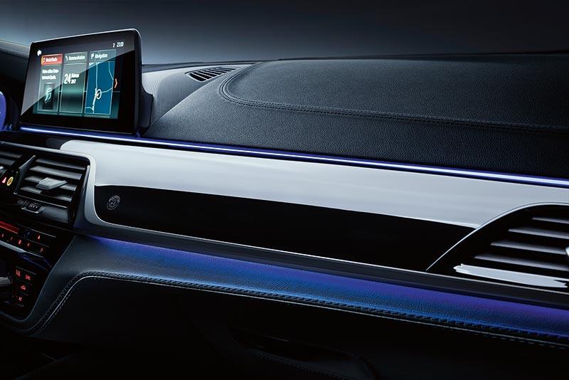 BMW ALPINA B5 Bi-Turbo, ambiente Beleuchtung blau