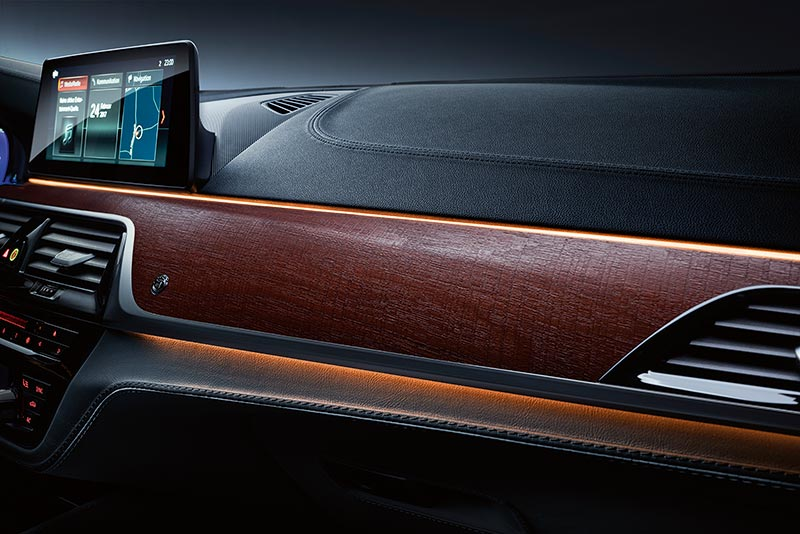 BMW ALPINA B5 Bi-Turbo, ambiente Beleuchtung rot