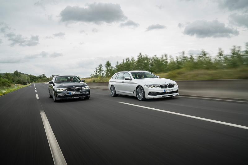BMW Alpina D5 S als Limousine und Touring
