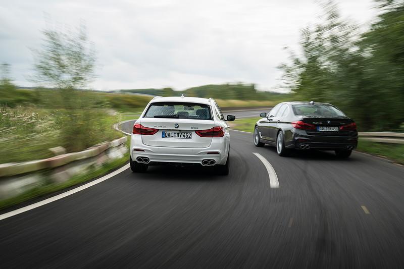 BMW Alpina D5 S als Touring und Limousine