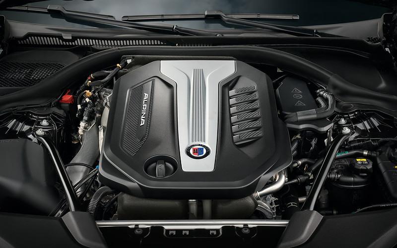 BMW Alpina D5 S, R6-Diesel-Motor mit 388 PS