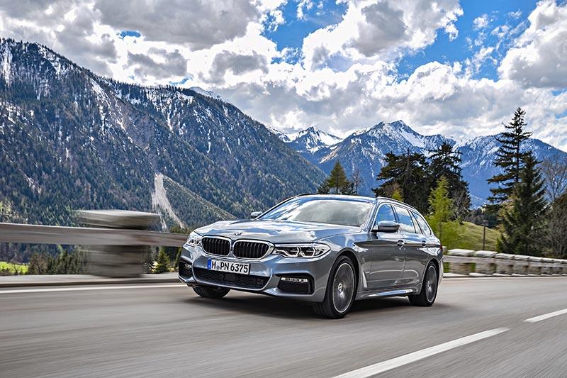 Der neue BMW 530d Touring.