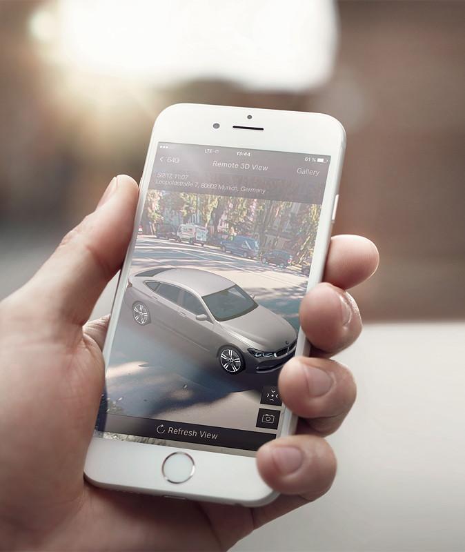 Der neue BMW 6er Gran Turismo, BMW Connected, Remote 3D View