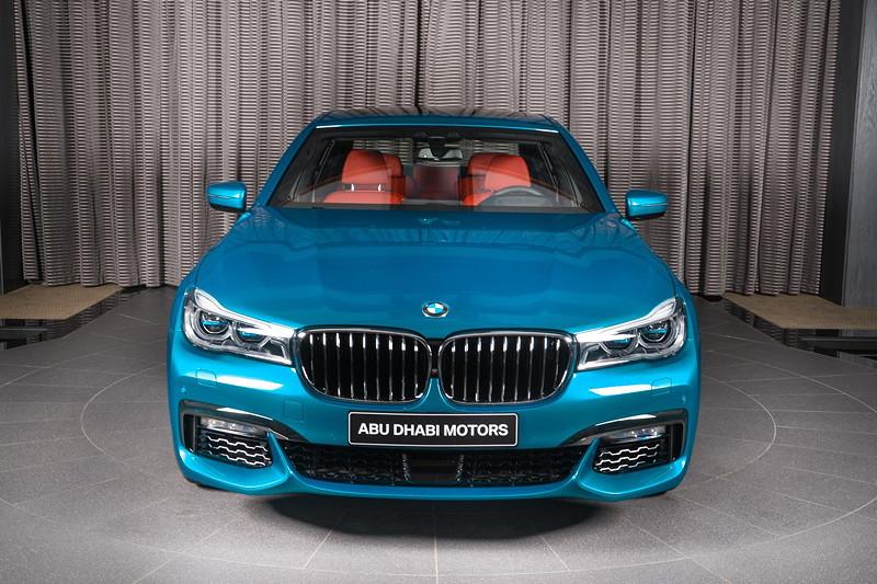 BMW 750Li (G12) xDrive in Atlantis Blau