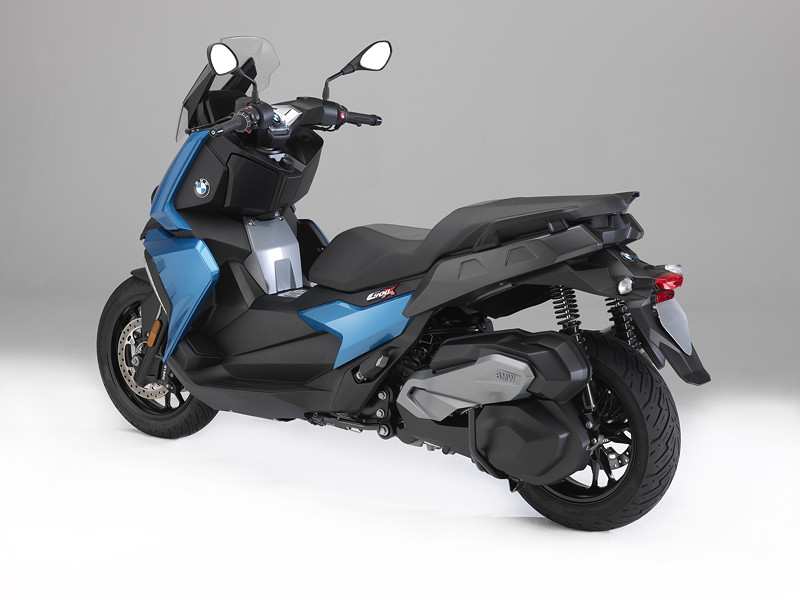 BMW C 400 X in Zenithblau metallic