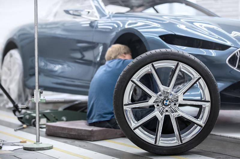 BMW Concept 8 Series, Making of