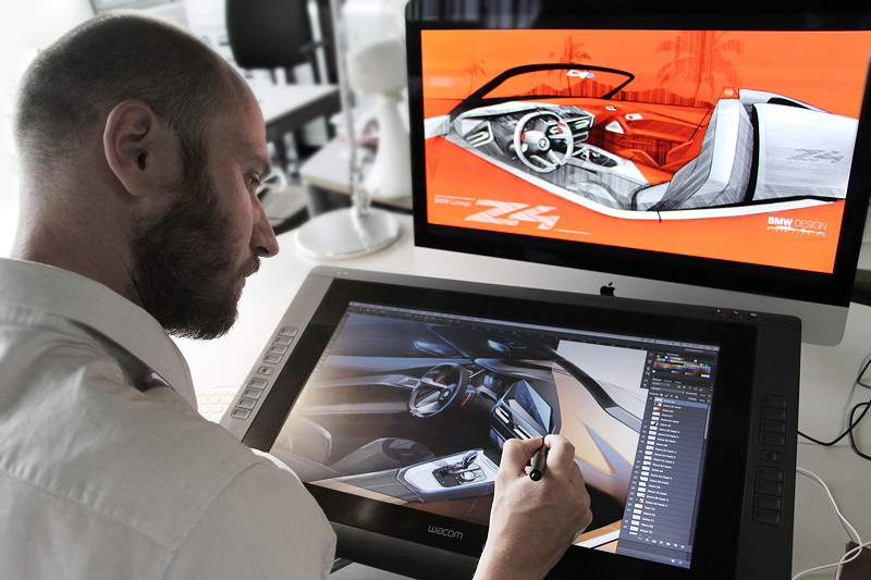 BMW Concept Z4, Making of