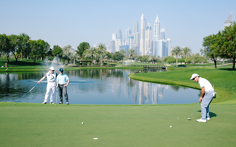 BMW Golf Cup International Weltfinale 2016 in Dubai.