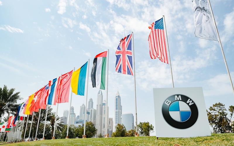 BMW Golf Cup International Weltfinale 2016 in Dubai.