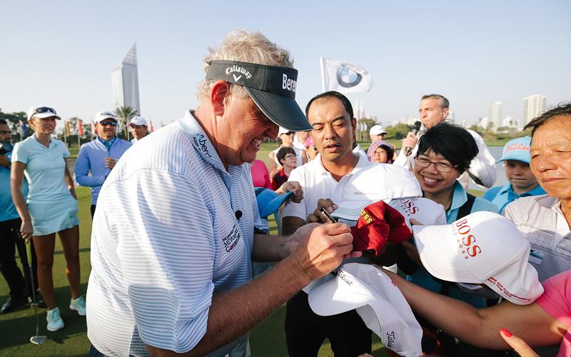 BMW Golf Cup International Weltfinale 2016 in Dubai. Colin Montgomerie.
