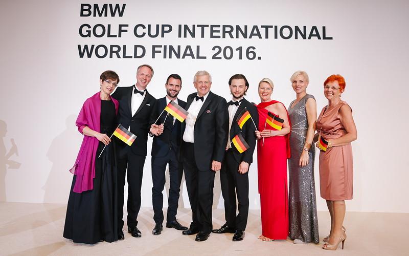 BMW Golf Cup International Weltfinale 2016 in Dubai. Team Deutschland.