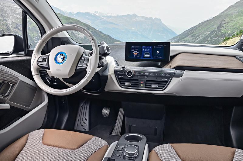 BMW i3, Interieur
