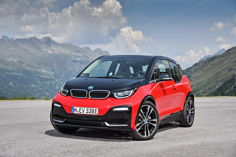 BMW i3s in Melbourne Rot metallic