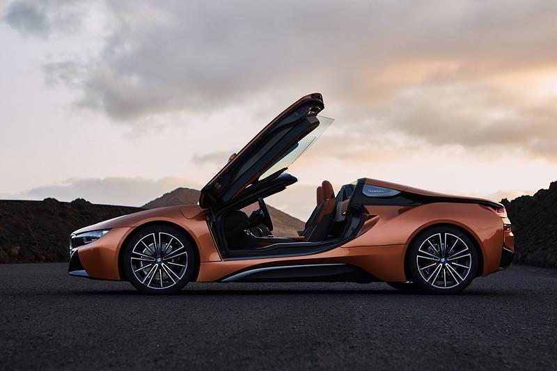 Der neue BMW i8 Roadster.