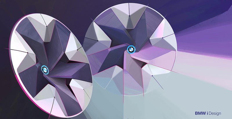 BMW i Vision Dynamics, Skizze