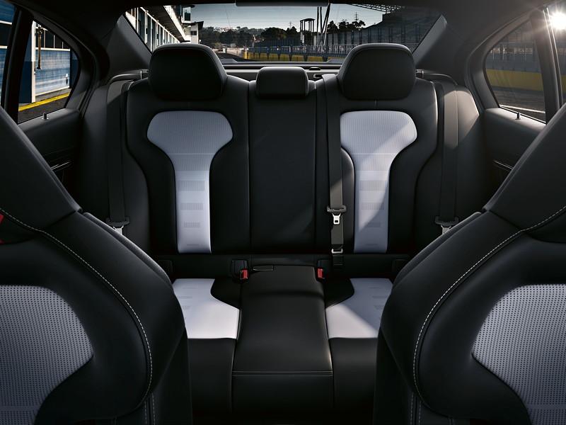 BMW M3 CS, Interieur Fond