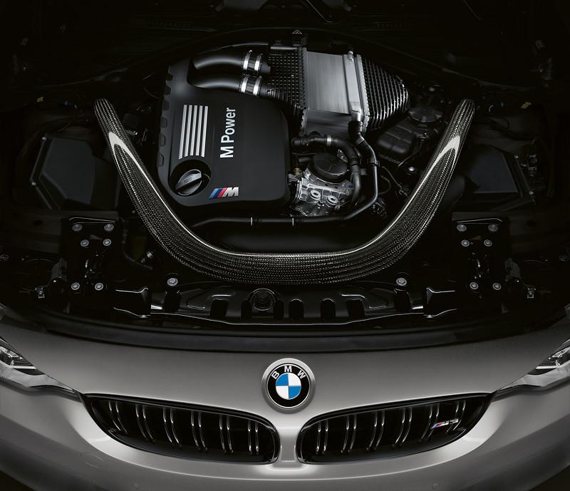 BMW M3 CS, Motor