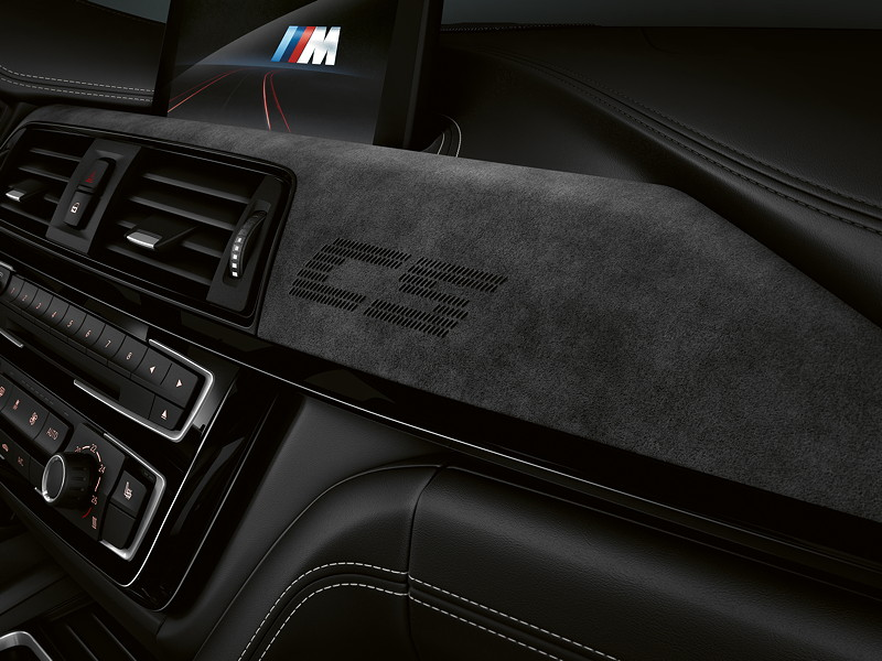 BMW M3 CS, Detail Innenraum