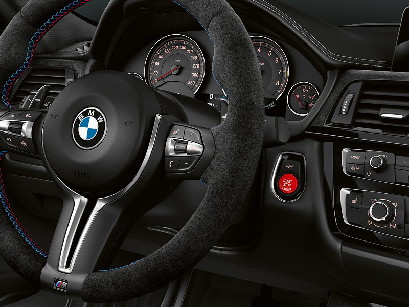 BMW M3 CS, Cockpit