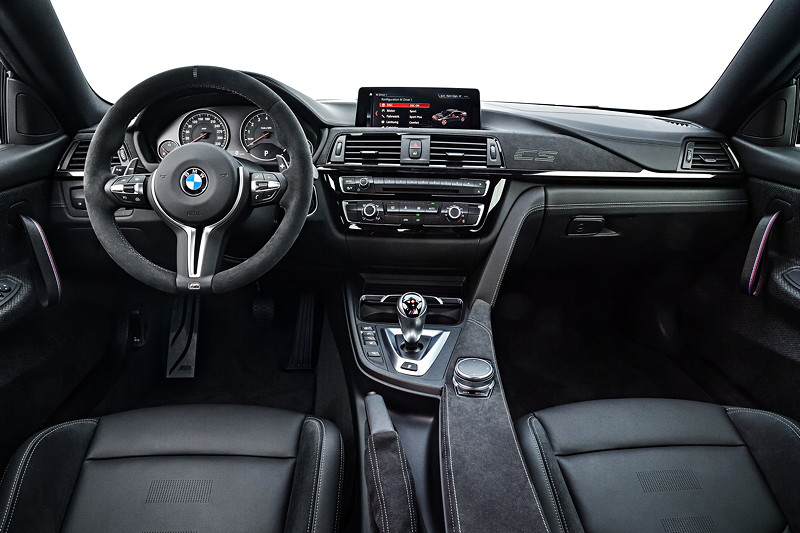 BMW M4 CS, Interieur vorne