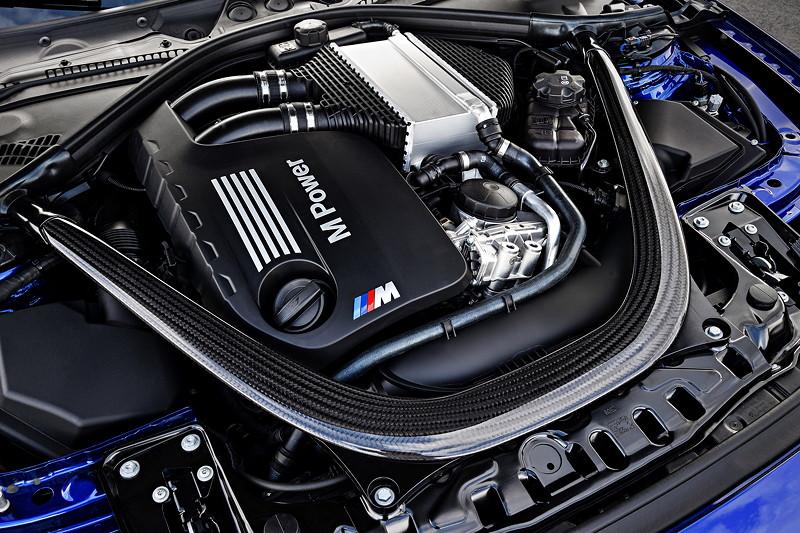 BMW M4 CS, 6-Zylinder Reihenmotor mit 460 PS, 29 PS mehr als im Serien-M4