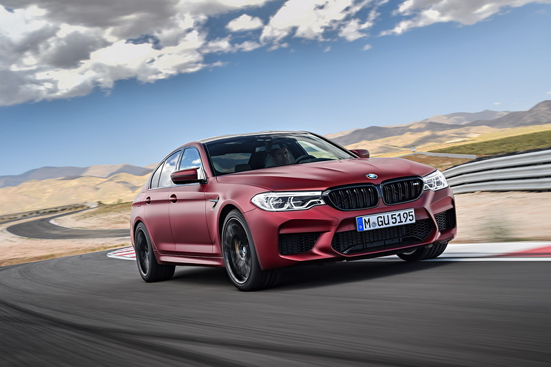 Der BMW M5 First Edition.
