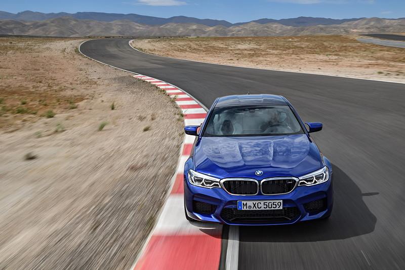 Der neue BMW M5.