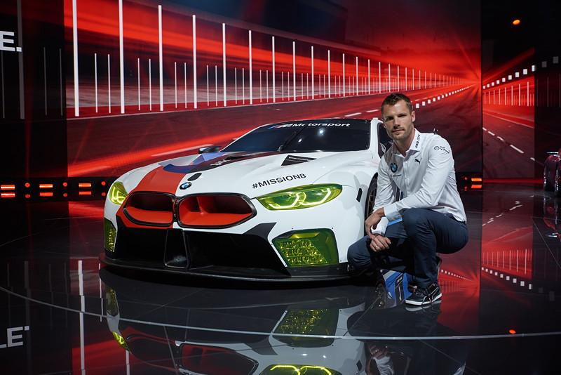 BMW Motorsport Pressekonferenz, IAA, BMW M8 GTE, Martin Tomczyk.