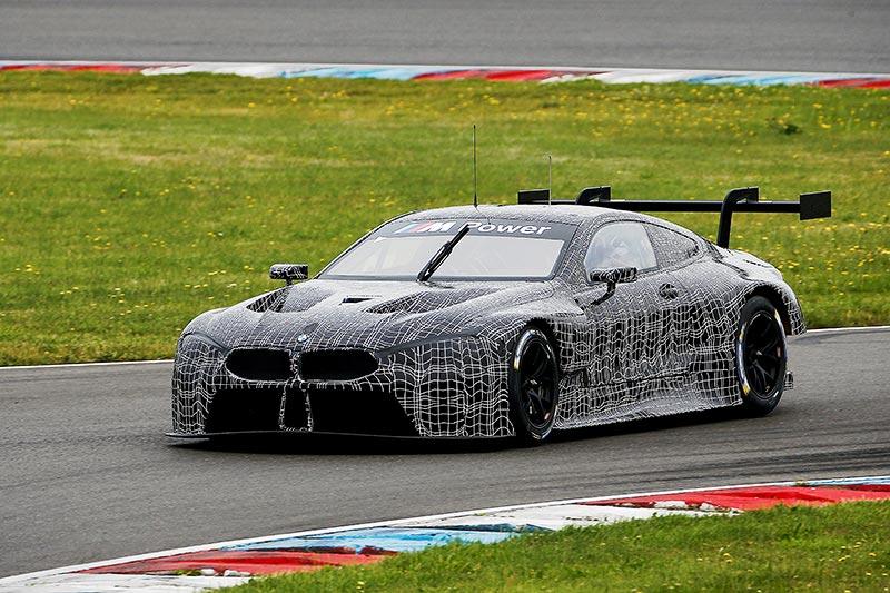 Lausitzring, 11. Juli 2017. BMW Motorsport, BMW M8 GTE.