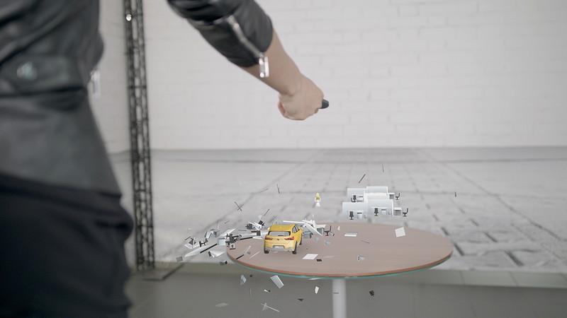 Die BMW X2 Holo Experience: Mixed Reality Erlebnis für die Kampagne des neuen BMW X2 in Kooperation mit Microsoft HoloLens.