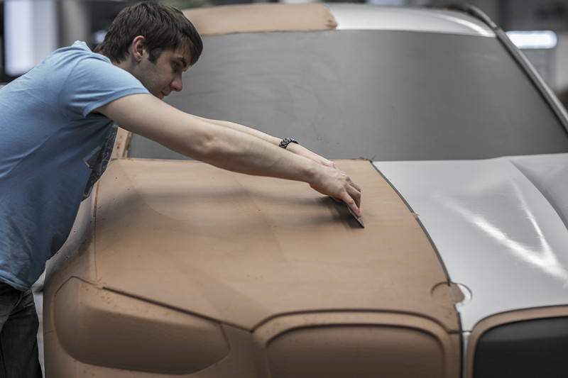 BMW X3, Designprozess, Clay-Modell