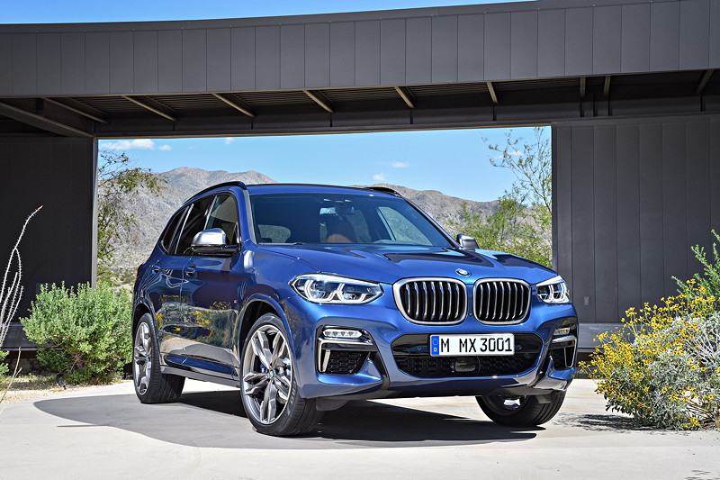 BMW X3 xDrive M40i in Phytonic Blau Metallic