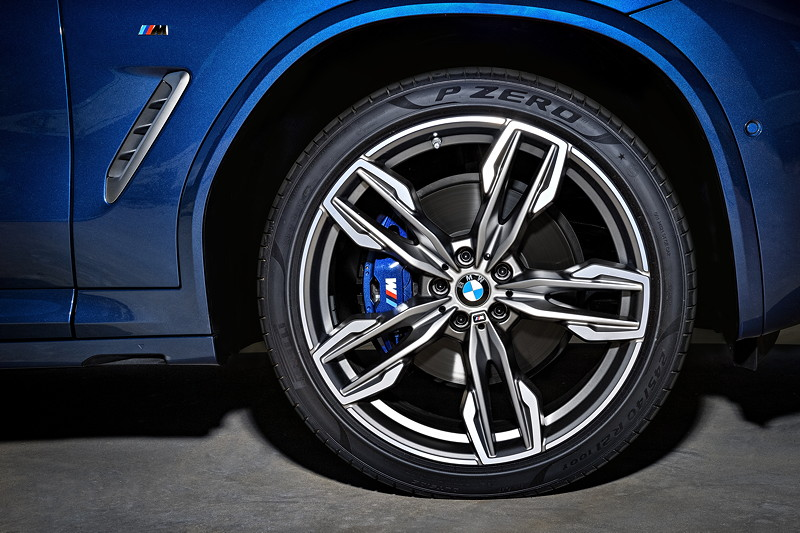 BMW X3 xDrive M40i, 20 Zoll große Leichtmetallgussräder