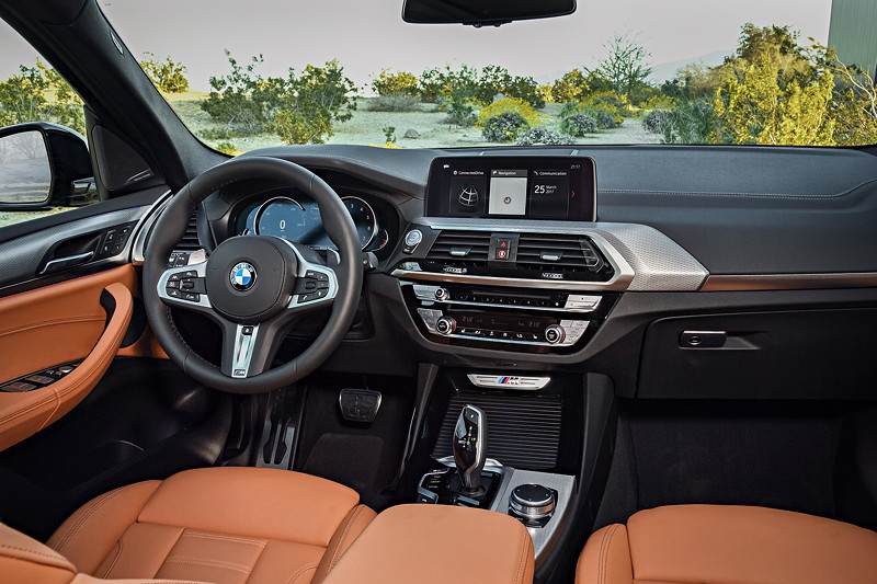 BMW X3 xDrive M40i, Cockpit