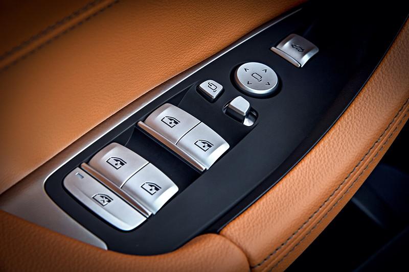 BMW X3 xDrive M40i, Fesnterheber und Spiegelverstellung
