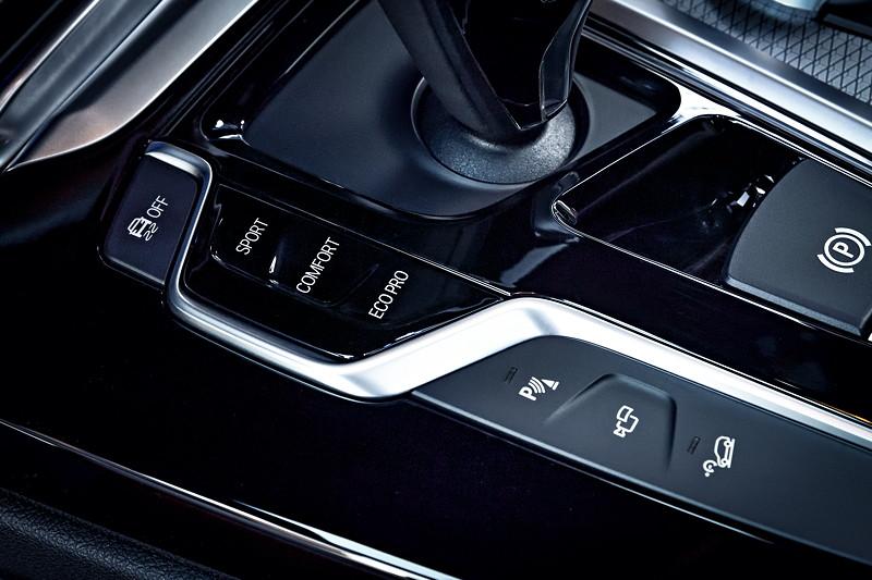 BMW X3 xDrive M40i, Fahrprogramm Schalter