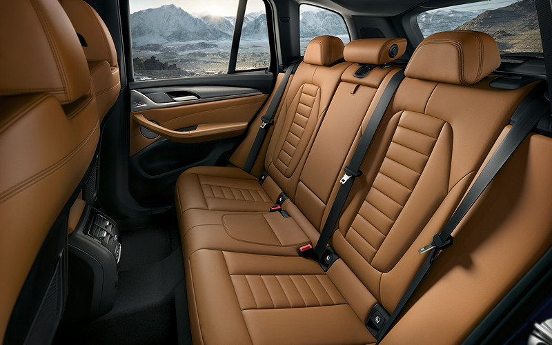 BMW X3 (G01), Interieur, Fond