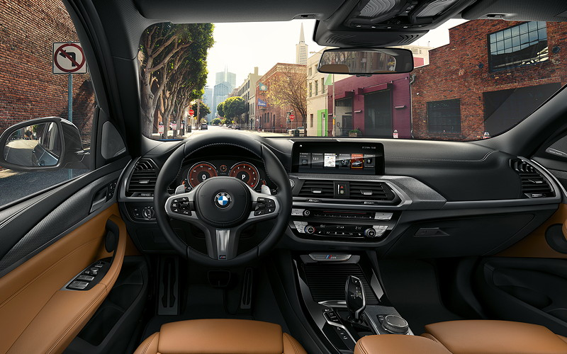 BMW X3 (G01), Interieur, Cockpit