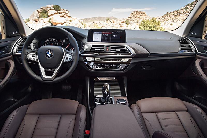 BMW X3 xDrive30d xLine, Interieur, Polsterung: Leder Vernasca Mokka