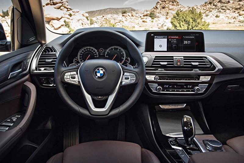 BMW X3 xDrive30d xLine, Cockpit