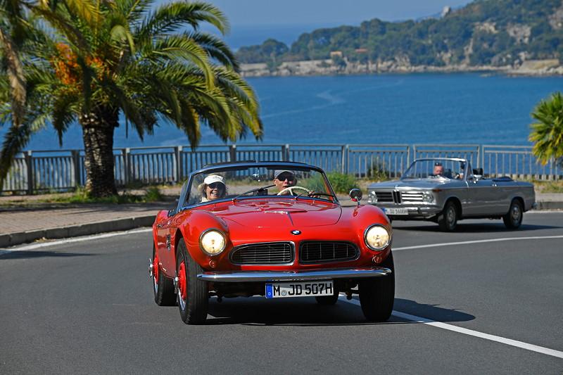 BMW 507 und BMW 1600 Cabriolet