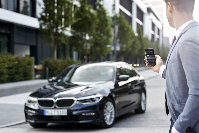 BMW Connected Remote Services.