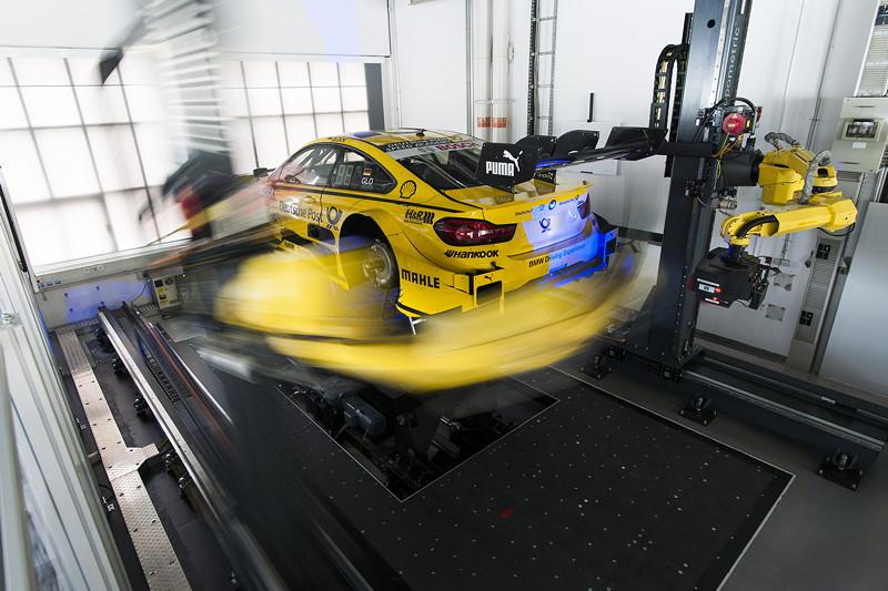 FIZ, BMW Group, München. 3D Messung, BMW M4 DTM.