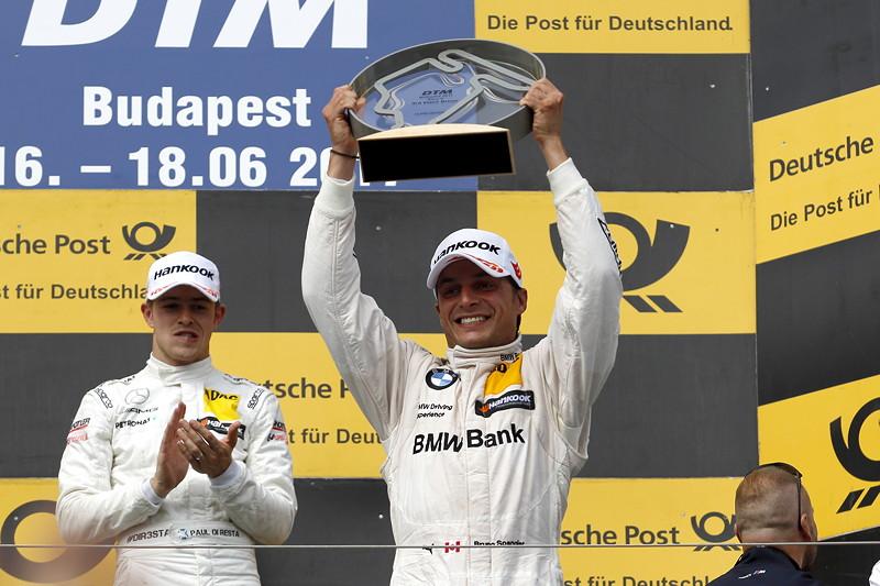 Hungaroring (HUN), 17. Juni 2017. DTM-Rennen 5. Auf dem Siegerpodest: Bruno Spengler (CAN), BMW Bank M4 DTM, BMW Team RBM.