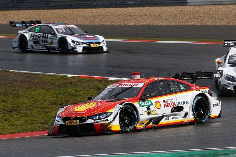 Nürburgring, 9. September 2017, DTM-Rennen 13. Augusto Farfus (BRA) im Shell BMW M4 DTM und Tom Blomqvist (GBR) im BMW Driving Experience M4 DTM.