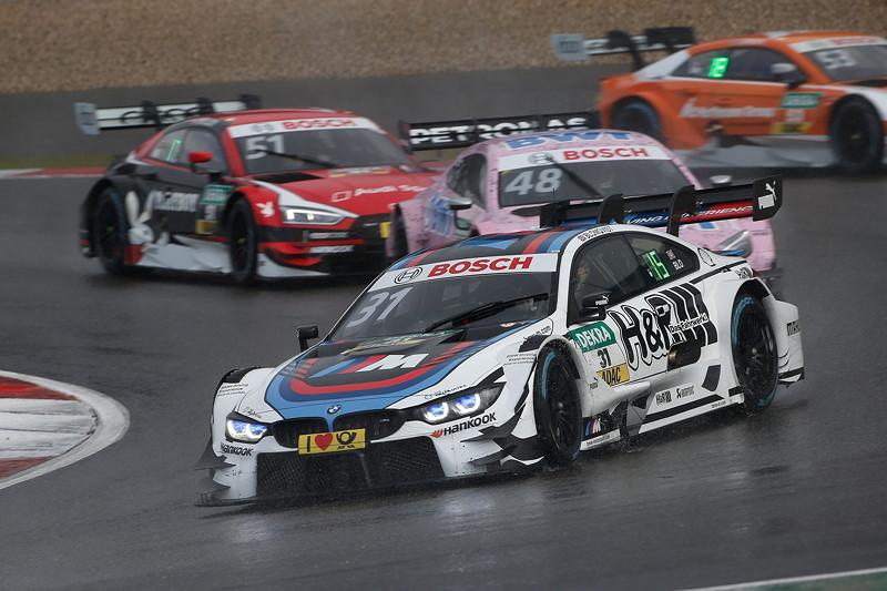 Nürburgring, 9. September 2017, DTM-Rennen 13. Race 13, Tom Blomqvist (GBR) im BMW Experience M4 DTM.