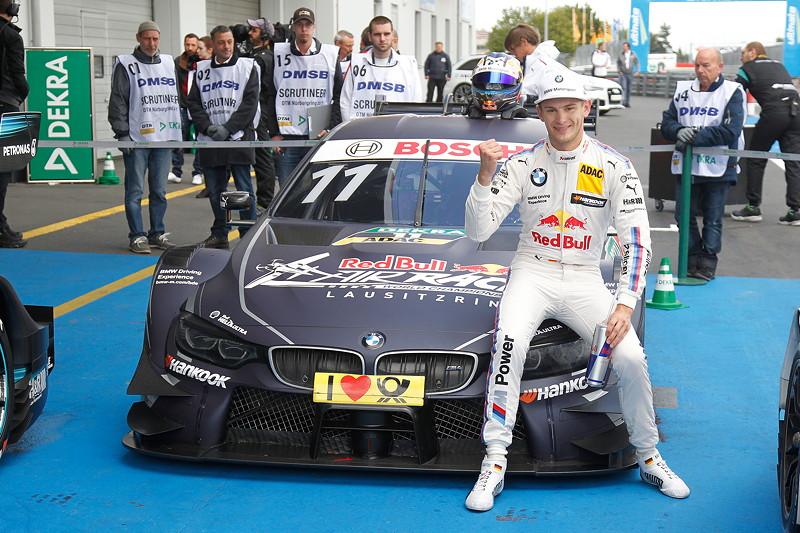 Nürburgring, 10. September 2017. DTM-Rennen 14. Marco Wittmann holte mit seinem Red Bull BMW M4 DTM die Pole Position.