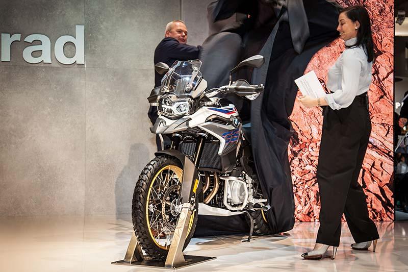 BMW Motorrad auf der EICMA 2017