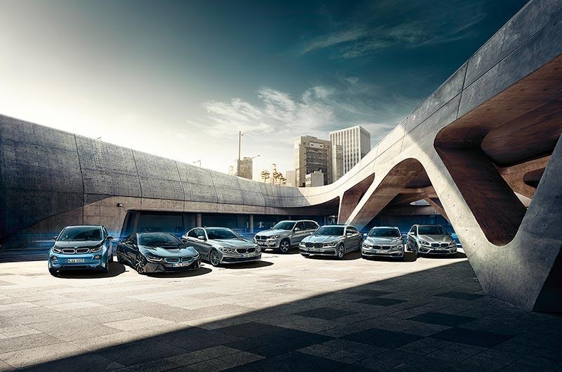 BMW i und BMW iPerfomance Modelle